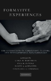 Abbildung von Worthman / Plotsky / Schechter / Cummings | Formative Experiences | 2013