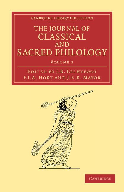 Abbildung von Lightfoot / Hort / Mayor | The Journal of Classical and Sacred Philology | 2012