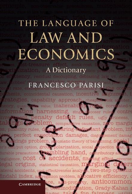 Abbildung von Parisi | The Language of Law and Economics | 2013