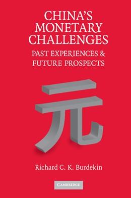Abbildung von Burdekin | China's Monetary Challenges | 2012 | Past Experiences and Future Pr...