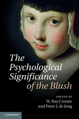 Abbildung von Crozier / Jong | The Psychological Significance of the Blush | 2012