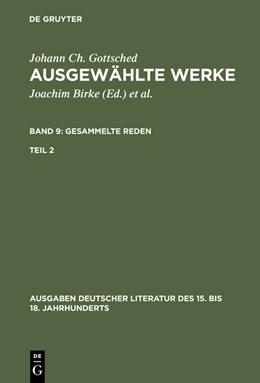 Abbildung von Gottsched / Mitchell / Scholl | Gesammelte Reden. Zweiter Teil | 1976 | 1976 | 70