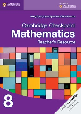 Abbildung von Byrd / Pearce | Cambridge Checkpoint Mathematics Teacher's Resource 8 | 2013