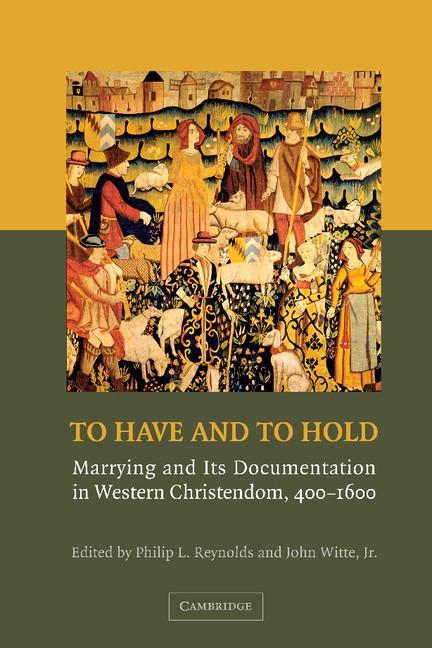 Abbildung von Reynolds / Witte | To Have and to Hold | 2012