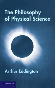 Abbildung von Eddington | The Philosophy of Physical Science | 2012