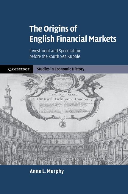 Abbildung von Murphy | The Origins of English Financial Markets | 2012