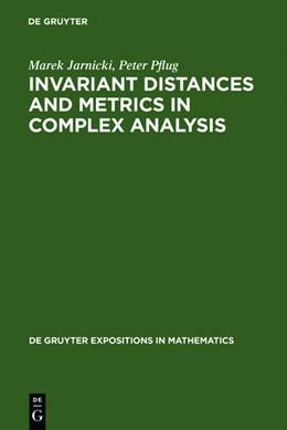 Abbildung von Jarnicki / Pflug   Invariant Distances and Metrics in Complex Analysis   Reprint 2011   2011