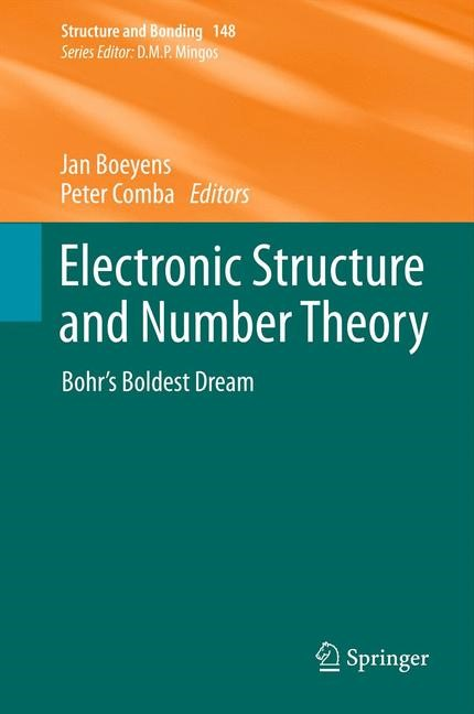 Abbildung von Boeyens / Comba | Electronic Structure and Number Theory | 2013