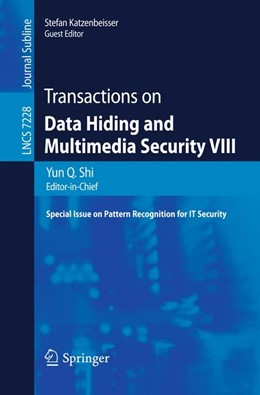 Abbildung von Shi | Transactions on Data Hiding and Multimedia Security VIII | 2012