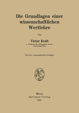Abbildung von Kraft | Die Grundlagen einer wissenschaftlichen Wertlehre | 1951