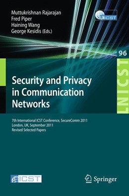 Abbildung von Rajarajan / Piper / Wang / Kesidis | Security and Privacy in Communication Networks | 2012 | 7th International ICST Confere... | 96