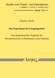Abbildung von Börlin   Das Experiment als Lerngelegenheit   2012