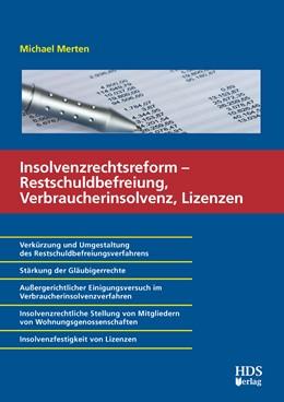 Abbildung von Merten / Schlotter / Wolf | Das neue Verbraucherinsolvenzverfahren nach der Insolvenzrechtsreform | 2015