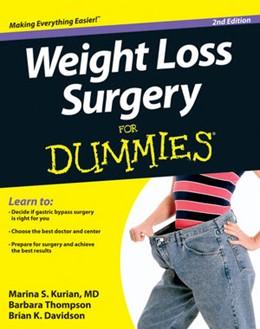 Abbildung von Kurian / Thompson / Davidson | Weight Loss Surgery For Dummies | 2012