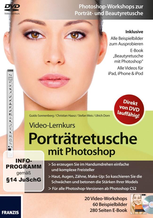 Abbildung von Dorn / Haasz / Sonnenberg | Video-Lernkurs Porträtretusche mit Photoshop | 2010