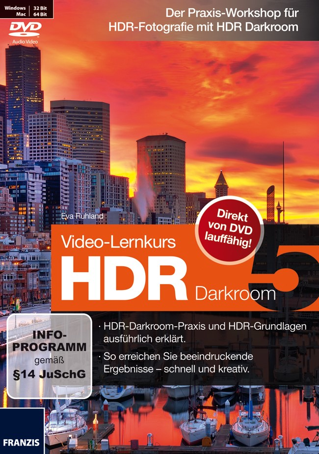 Video-Lernkurs HDR Darkroom 5 | / Ruhland, 2012 (Cover)