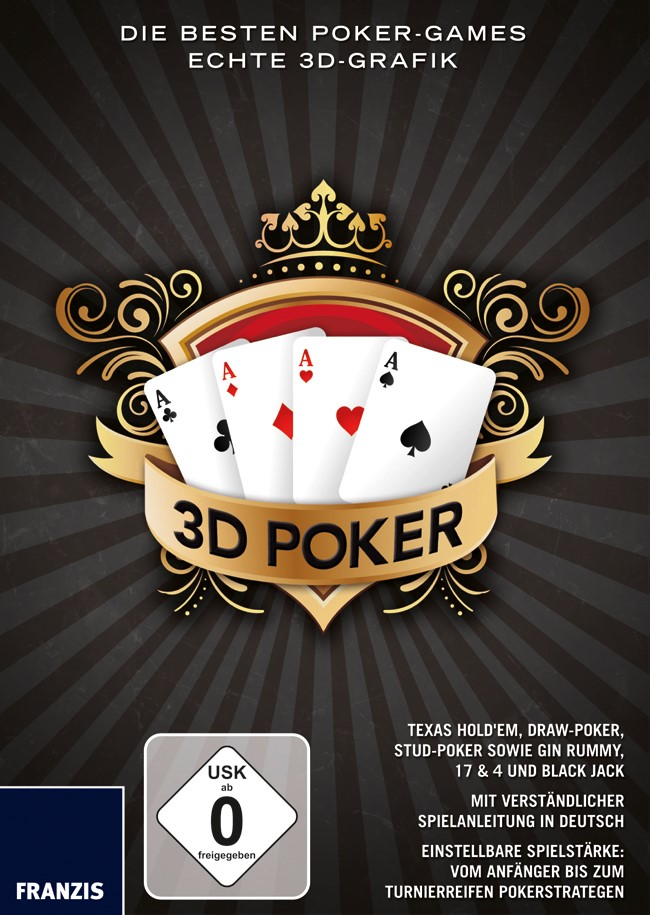 3D Poker, 2011 | Buch (Cover)