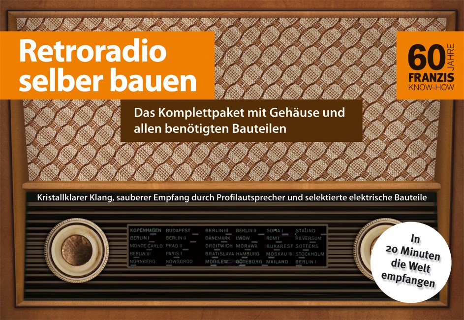 Retroradio selbst bauen | Kainka, 2012 | Buch (Cover)