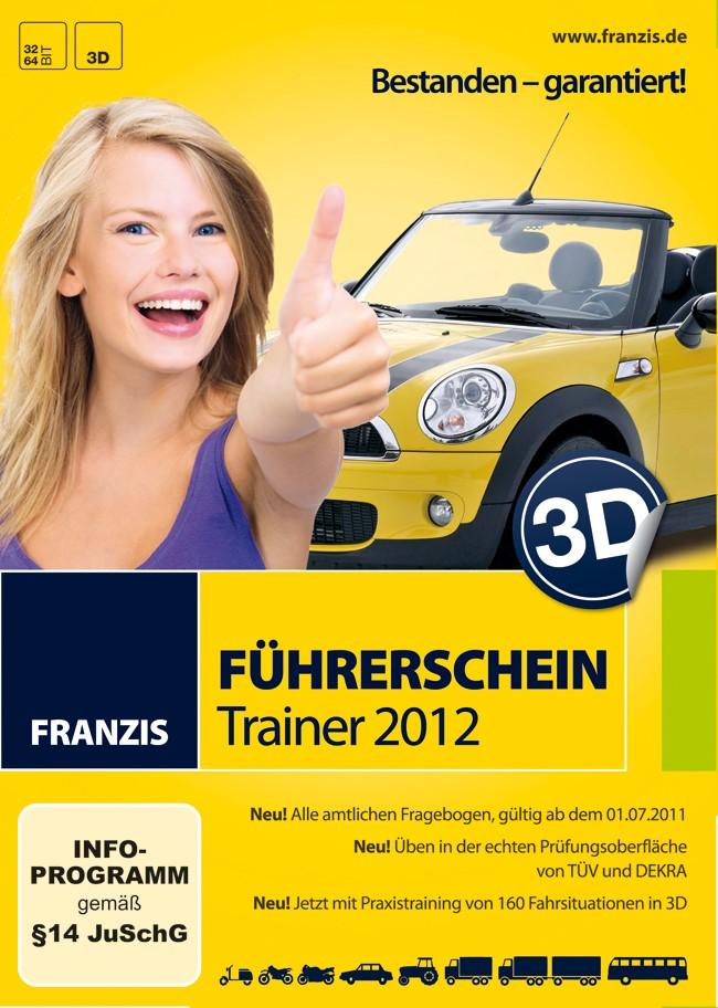 Abbildung von 3 D Führerschein 2012 | 2011