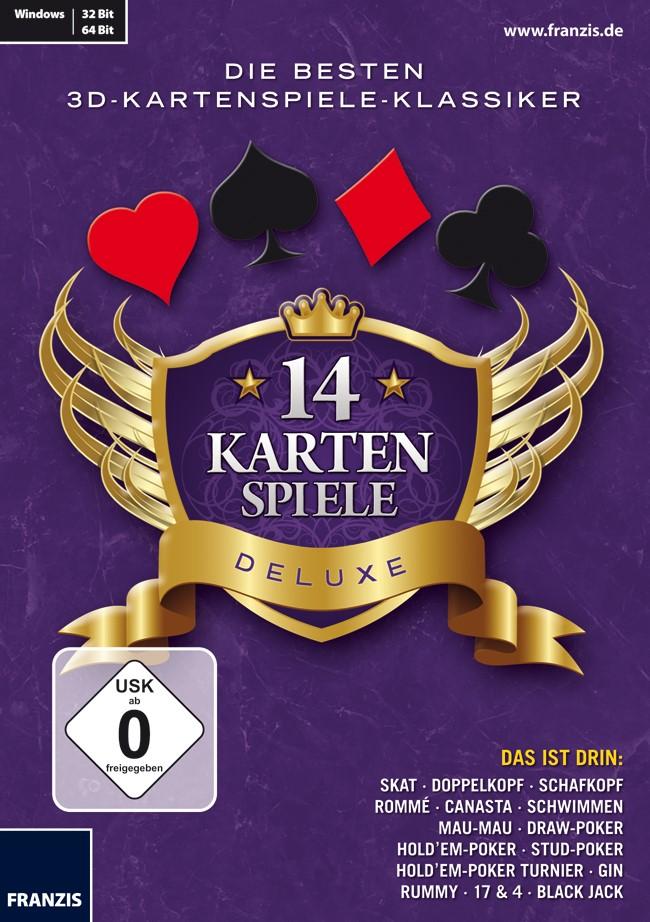14 Kartenspiele Deluxe, 2012 (Cover)