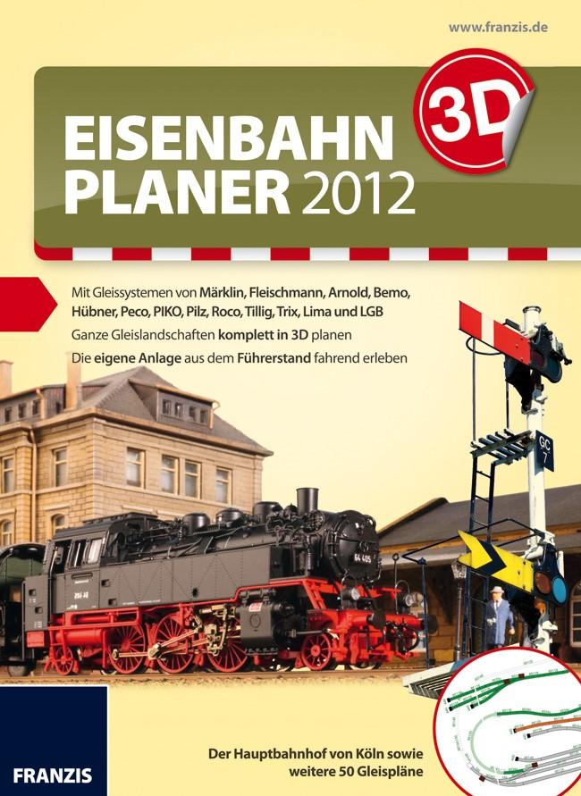 3D Eisenbahnplaner 2012, 2011 | Buch (Cover)