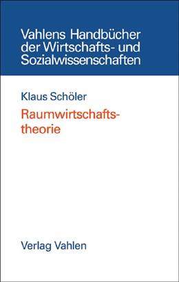 Abbildung von Schöler | Raumwirtschaftstheorie | 2005