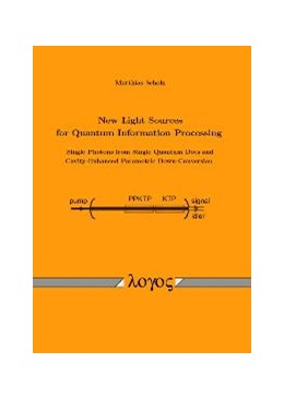 Abbildung von Scholz | New Light Sources for Quantum Information Processing -- Single Photons from Single Quantum Dots and Cavity-Enhanced Parametric Down-Conversion | 2009