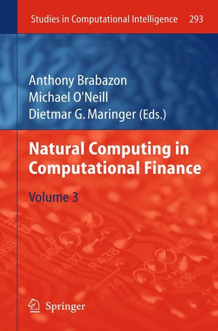 Natural Computing in Computational Finance | Brabazon / O'Neill / Maringer, 2012 | Buch (Cover)