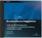 BundesDeutscheGesetze, 2014 (Cover)