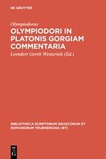 Abbildung von Olympiodorus / Westerink   Olympiodori in Platonis Gorgiam commentaria   Reprint 2010   2012