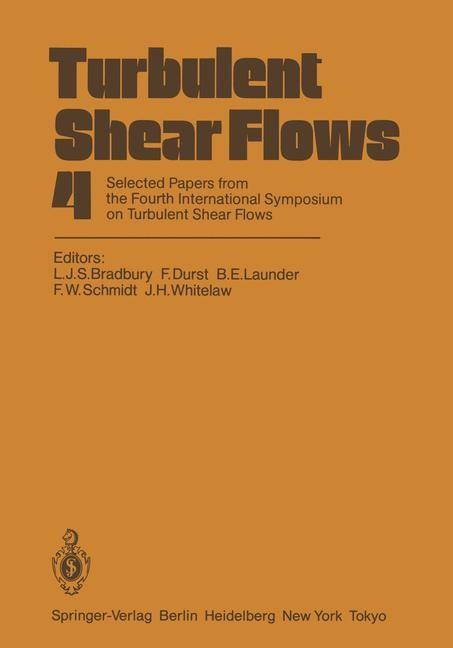 Turbulent Shear Flows 4 | Bradbury / Durst / Launder / Schmidt / Whitelaw, 2011 | Buch (Cover)