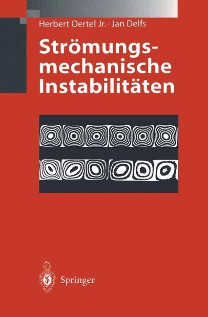 Strömungsmechanische Instabilitäten | Oertel / Delfs, 1996 | Buch (Cover)
