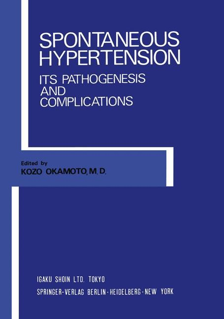 Spontaneous Hypertension | Okamoto, 2011 | Buch (Cover)