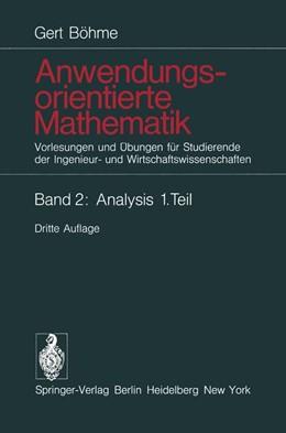 Abbildung von Böhme   Anwendungsorientierte Mathematik   1983   Vorlesungen und Übungen für St...