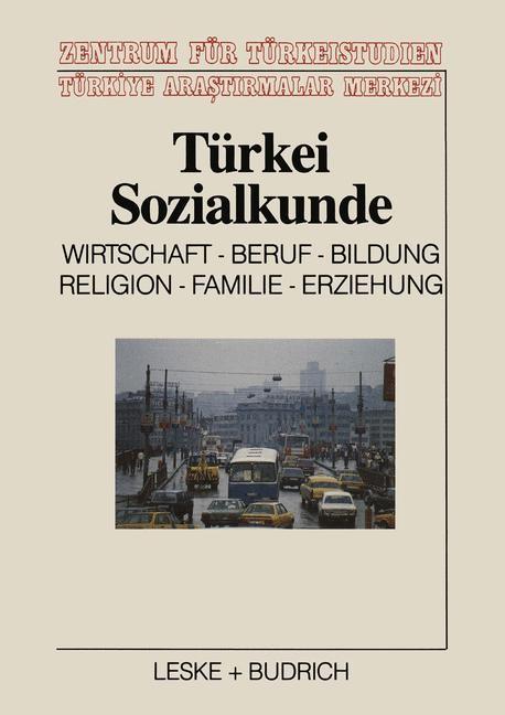 Türkei-Sozialkunde | Czock, 1990 | Buch (Cover)