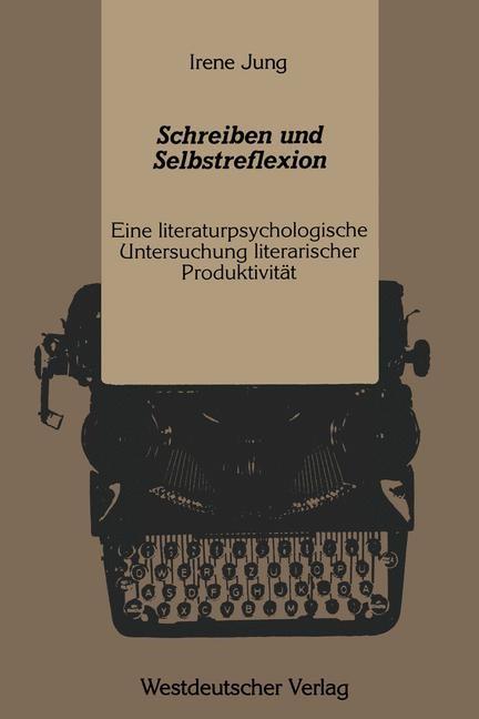 Schreiben und Selbstreflexion | Jung, 1989 | Buch (Cover)