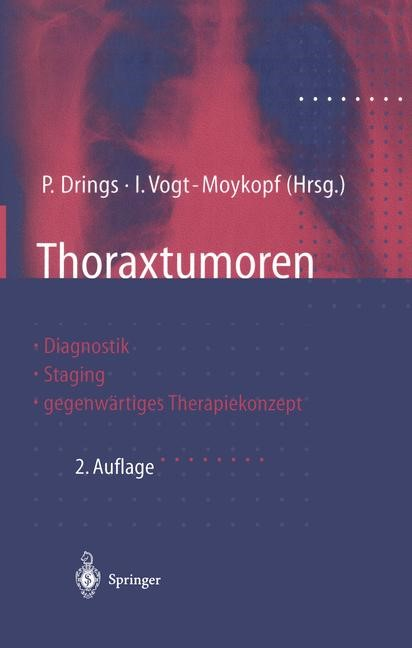 Thoraxtumoren | Drings / Vogt-Moykopf, 2011 | Buch (Cover)