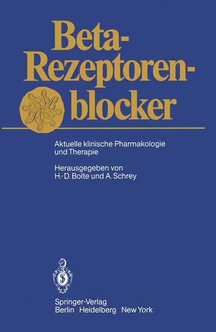 Abbildung von Bolte / Schrey | Beta-Rezeptorenblocker | 2011
