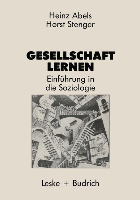Gesellschaft lernen | Abels, 1986 | Buch (Cover)