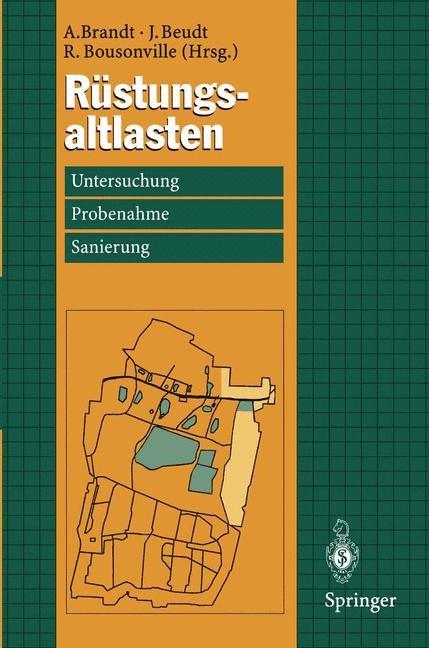 Rüstungsaltlasten   Brandt / Beudt / Bousonville, 1996   Buch (Cover)