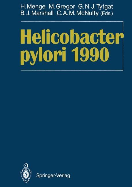 Abbildung von Menge / Gregor / Tytgat / Marshall / McNulty | Helicobacter pylori 1990 | 2011