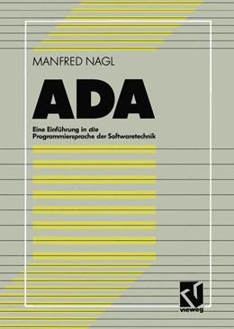 Abbildung von ADA | 2012 | Eine Einführung in die Program...