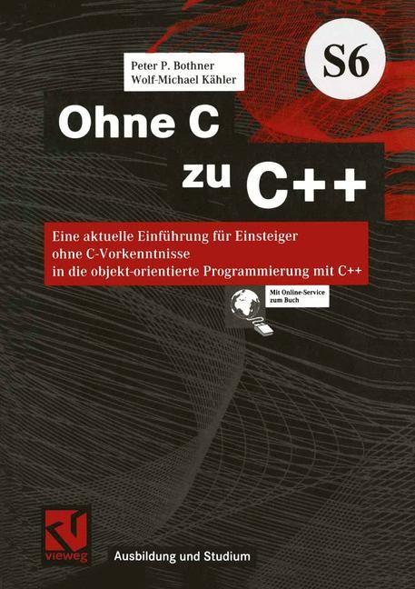 Ohne C zu C++   Bothner, 2001   Buch (Cover)