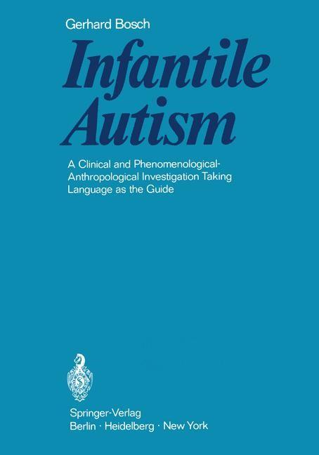 Infantile Autism | Bosch, 2012 | Buch (Cover)