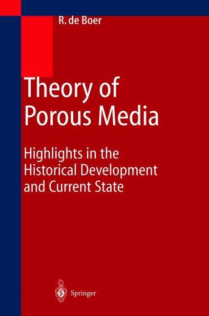 Abbildung von Boer   Theory of Porous Media   2011