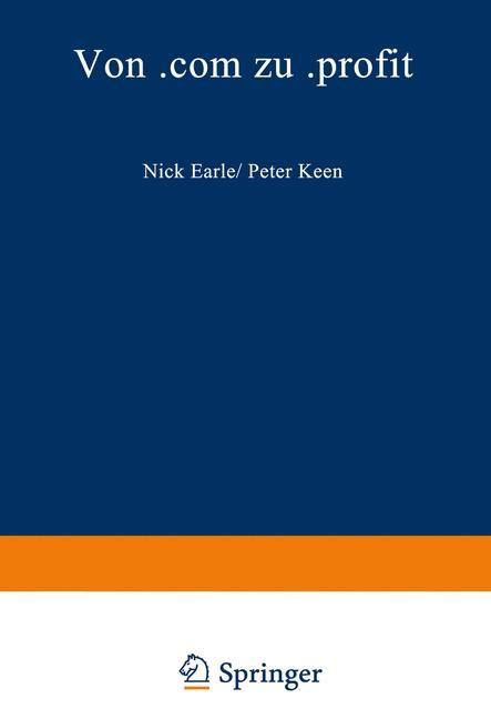 Von .com zu .profit   Earle / Keen, 2012   Buch (Cover)