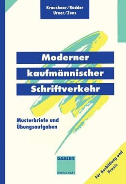 Abbildung von Kraushaar / Rödder / Urner | Moderner kaufmännischer Schriftverkehr | 1994 | 1994