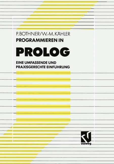 Programmieren in PROLOG | Bothner / Kähler, 1991 | Buch (Cover)