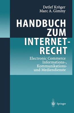 Abbildung von Kröger / Gimmy | Handbuch zum Internetrecht | 2012 | Electronic Commerce - Informat...