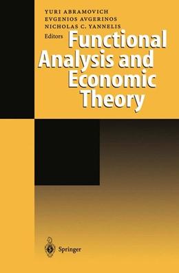 Abbildung von Abramovich / Avgerinos / Yannelis | Functional Analysis and Economic Theory | 2012